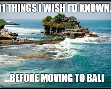 11 things I wish I'd know before moving to Bali_text